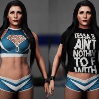Rockstar CAWS Tessa Blanchard WWE 2K18 AntDaGamer ADG (3)