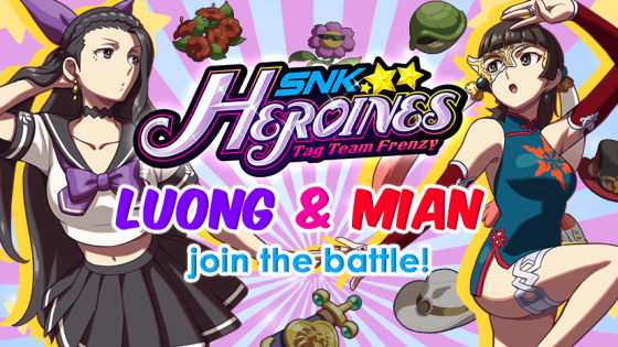 SNK Heroines Tag Team Frenzy Luong Mian