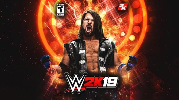WWE 2K19 _ Custom Header AJ Styles