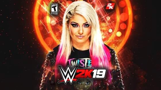WWE 2K19 Custom Cover Alexa Bliss
