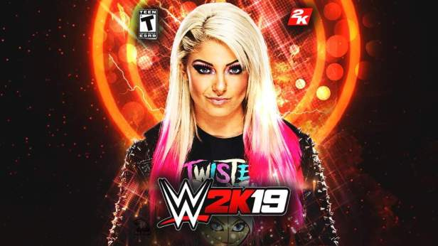 WWE 2K19 Custom Cover Alexa Bliss