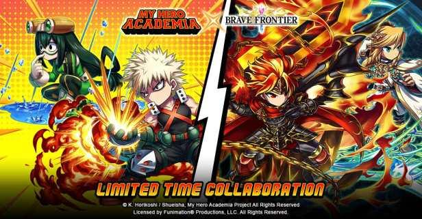 Brave Frontier My Hero Acadamia Art Brave Frontier My Hero Acadamia Art Key Art 1 (2)