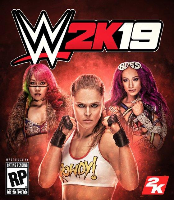 WWE 2K19 Custom Fan Cover By Madrill