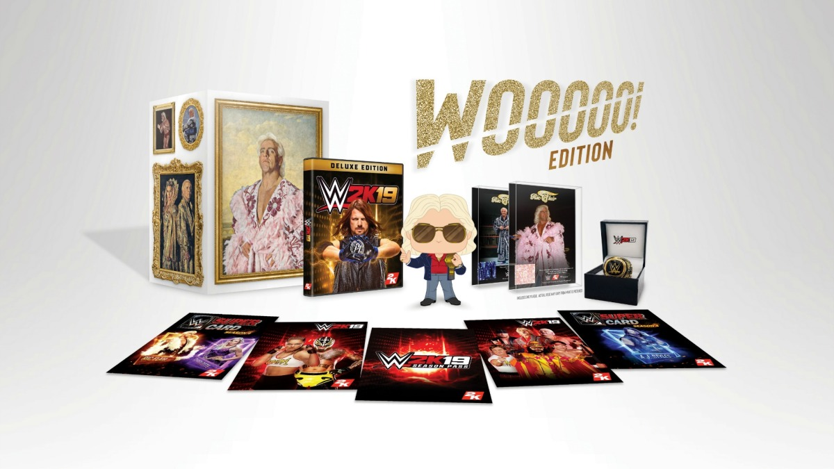 WWE 2K19 Wooooo! Edition Details, Images And Trailer