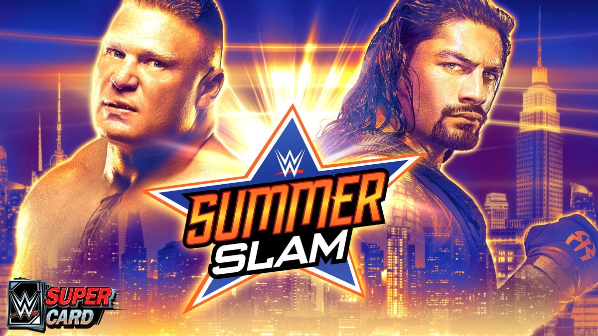WWE SuperCard SummerSlam 18 Tier  Update Impressions, Details And Images