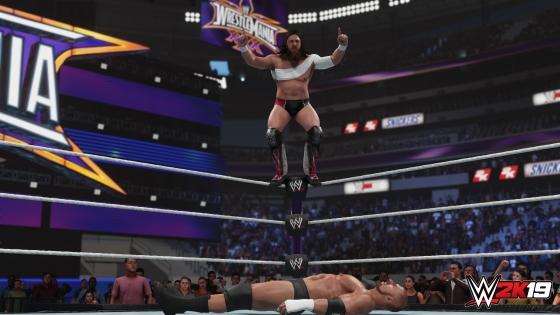 Daniel Bryan WWE 2K19 2K Showcase Screens Triple H John Cena Bryan Danielson Velocity Wrestlemania XXX Bandage Stephanie McMahon (1)