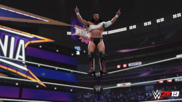 Daniel Bryan WWE 2K19 2K Showcase Screens Triple H John Cena Bryan Danielson Velocity Wrestlemania XXX Bandage Stephanie McMahon (2)