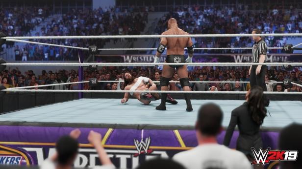 Daniel Bryan WWE 2K19 2K Showcase Screens Triple H John Cena Bryan Danielson Velocity Wrestlemania XXX Bandage Stephanie McMahon (3)