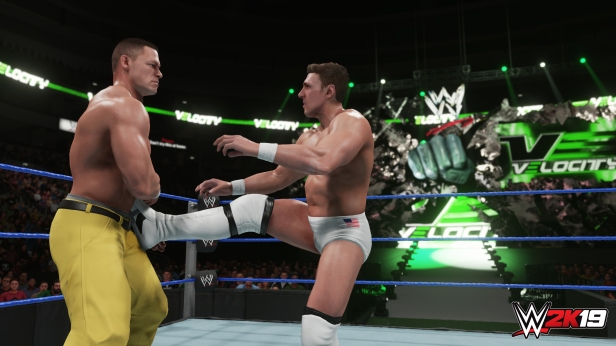Daniel Bryan WWE 2K19 2K Showcase Screens Triple H John Cena Bryan Danielson Velocity Wrestlemania XXX Bandage Stephanie McMahon (4)