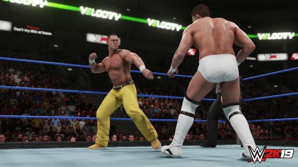 Daniel Bryan WWE 2K19 2K Showcase Screens Triple H John Cena Bryan Danielson Velocity Wrestlemania XXX Bandage Stephanie McMahon (5)