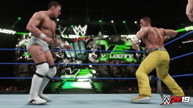 Daniel Bryan WWE 2K19 2K Showcase Screens Triple H John Cena Bryan Danielson Velocity Wrestlemania XXX Bandage Stephanie McMahon (6)