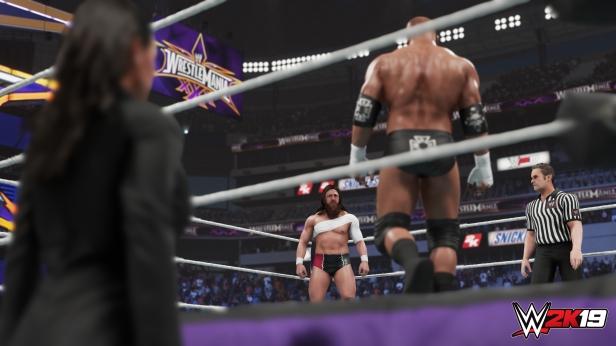 Daniel Bryan WWE 2K19 2K Showcase Screens Triple H John Cena Bryan Danielson Velocity Wrestlemania XXX Bandage Stephanie McMahon (7)