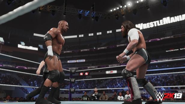 Daniel Bryan WWE 2K19 2K Showcase Screens Triple H John Cena Bryan Danielson Velocity Wrestlemania XXX Bandage Stephanie McMahon (8)