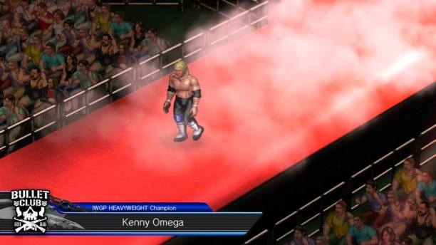 Fire Pro Wrestling World AntDaGamer Impressions Review kENNY Omega champion entrance
