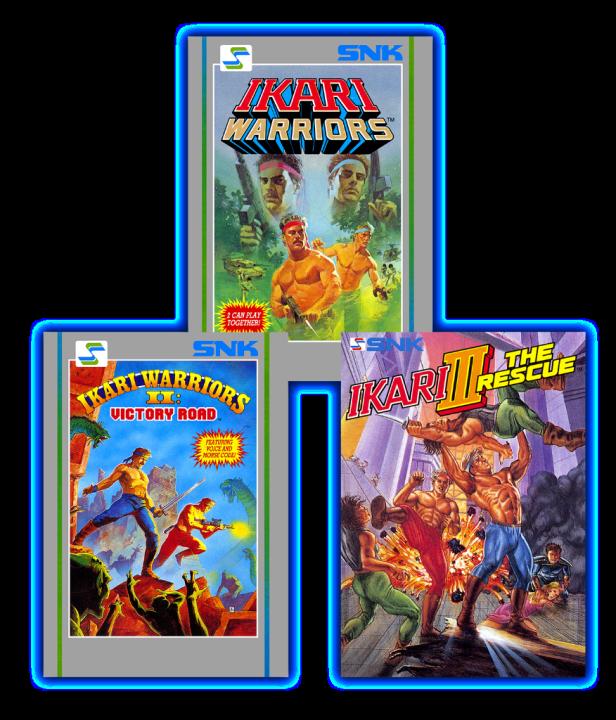 Ikari Warriors Series Returns SNK Collection 2018