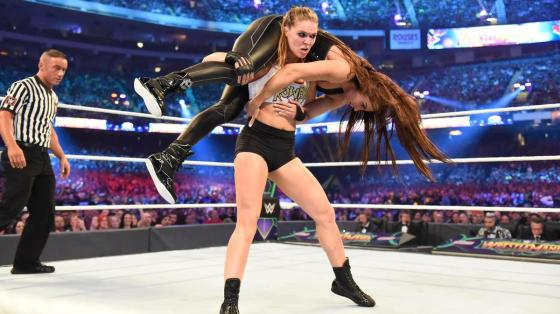 Ronda Wrestlemania 34 vs Stephanie McMahon Triple H AntDaGamer