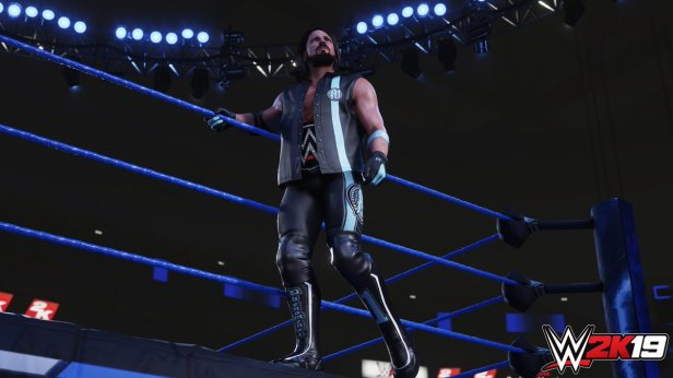WWE 2K19 AJ Styles Screenshots (Official) AntDaGamer ADG (1)