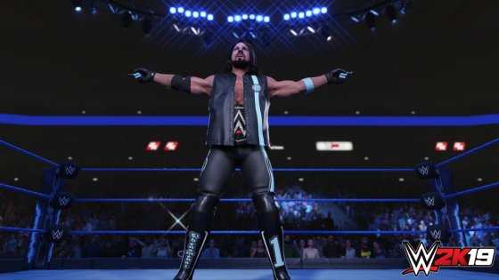 WWE 2K19 AJ Styles Screenshots (Official) AntDaGamer ADG (2)