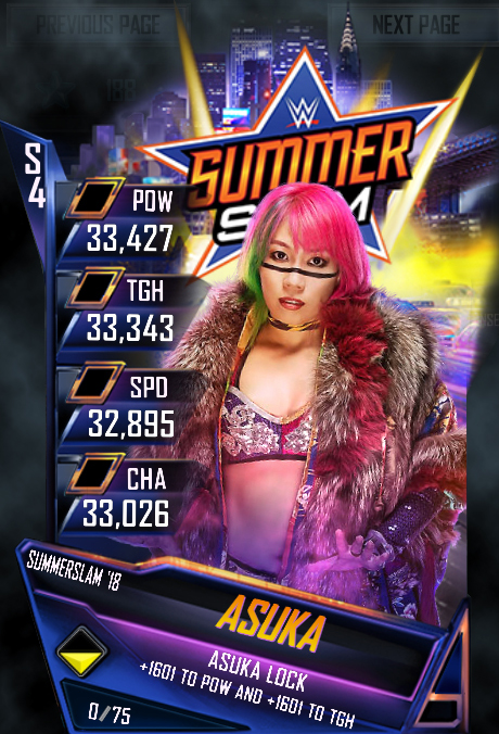 WWE SuperCard SummerSlam 18 Asuka (1)