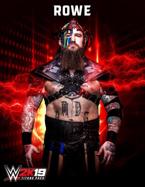 WWE 2K19 Rowe