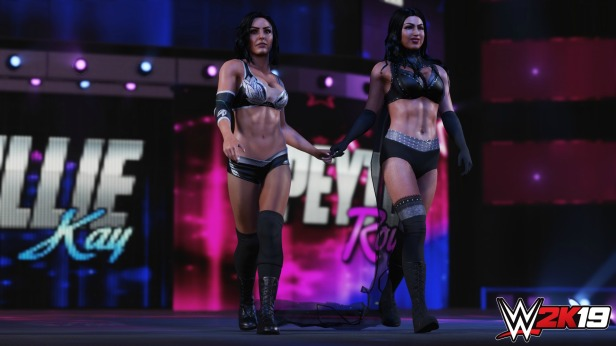 WWE 2K19 Billie kay Peyton royce 1920