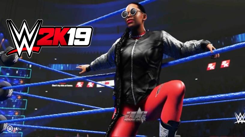 WWE 2K19 Bianca Belair Entrance – AntDaGamer Com