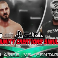 WWE 2K19 Community Creations' Simulations: Austin Aries Vs. Pentagon Jr.