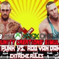 WWE 2K19 Community Creations' Simulations Xbox One Edition: CM Punk Vs. Rob Van Dam