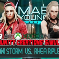 WWE 2K19 Community Creations' Simulations: Toni Storm Vs. Rhea Ripley Xbox One