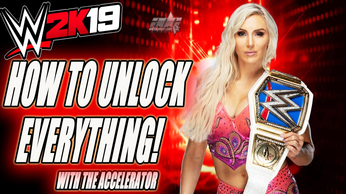 How To Unlock Everything In WWE 2K19 With The Accelerator