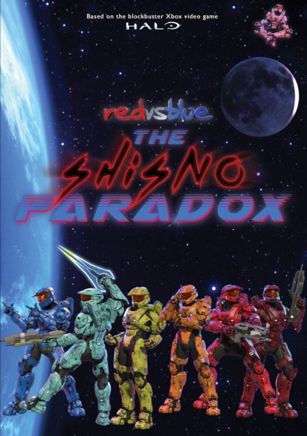 Red Vs Blue The Shisno Paradox Available On Digital Platforms Today Art
