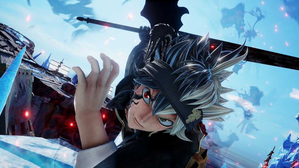 Jump Force Black Clover Asta & One Piece Marineford Screens Officially Released