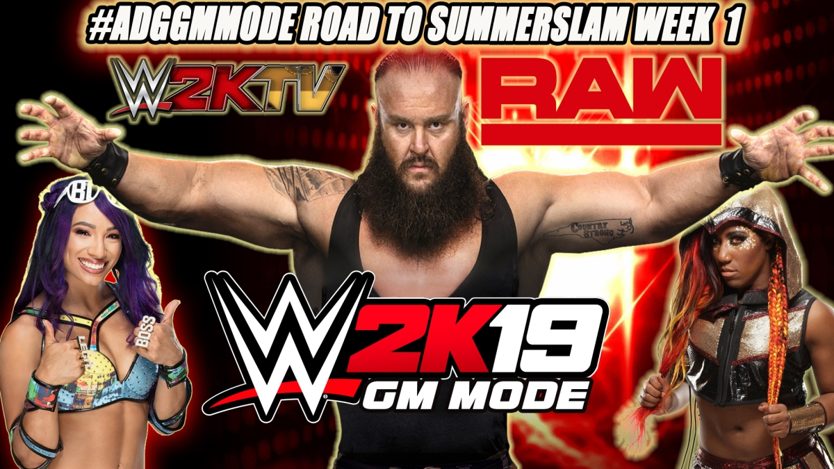 WWE 2K19 ADG GM Mode: A Monster Speaks - Episode 1