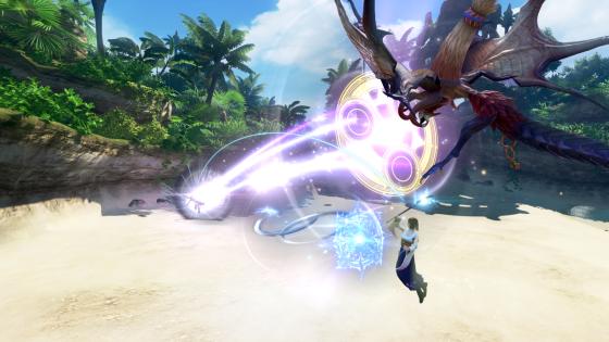 Yuna Dissidia Final Fantasy NT Action 2