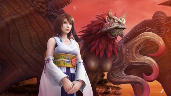 Yuna Dissidia Final Fantasy NT