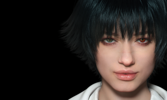 Devil May Cry 5 LadyFace