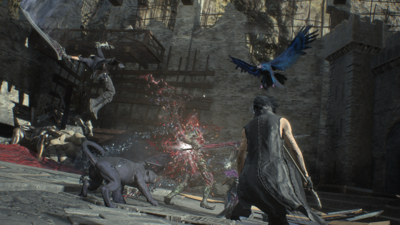 Devil May Cry 5 The Game Awards Main Trailer Screenshots (2)