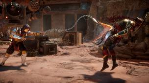 Mortal Kombat 11 Dark Raiden Vs Scorpion 1st Batch Official Screenshots (5)