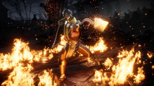 Mortal Kombat 11 Dark Raiden Vs Scorpion 1st Batch Official Screenshots (7)