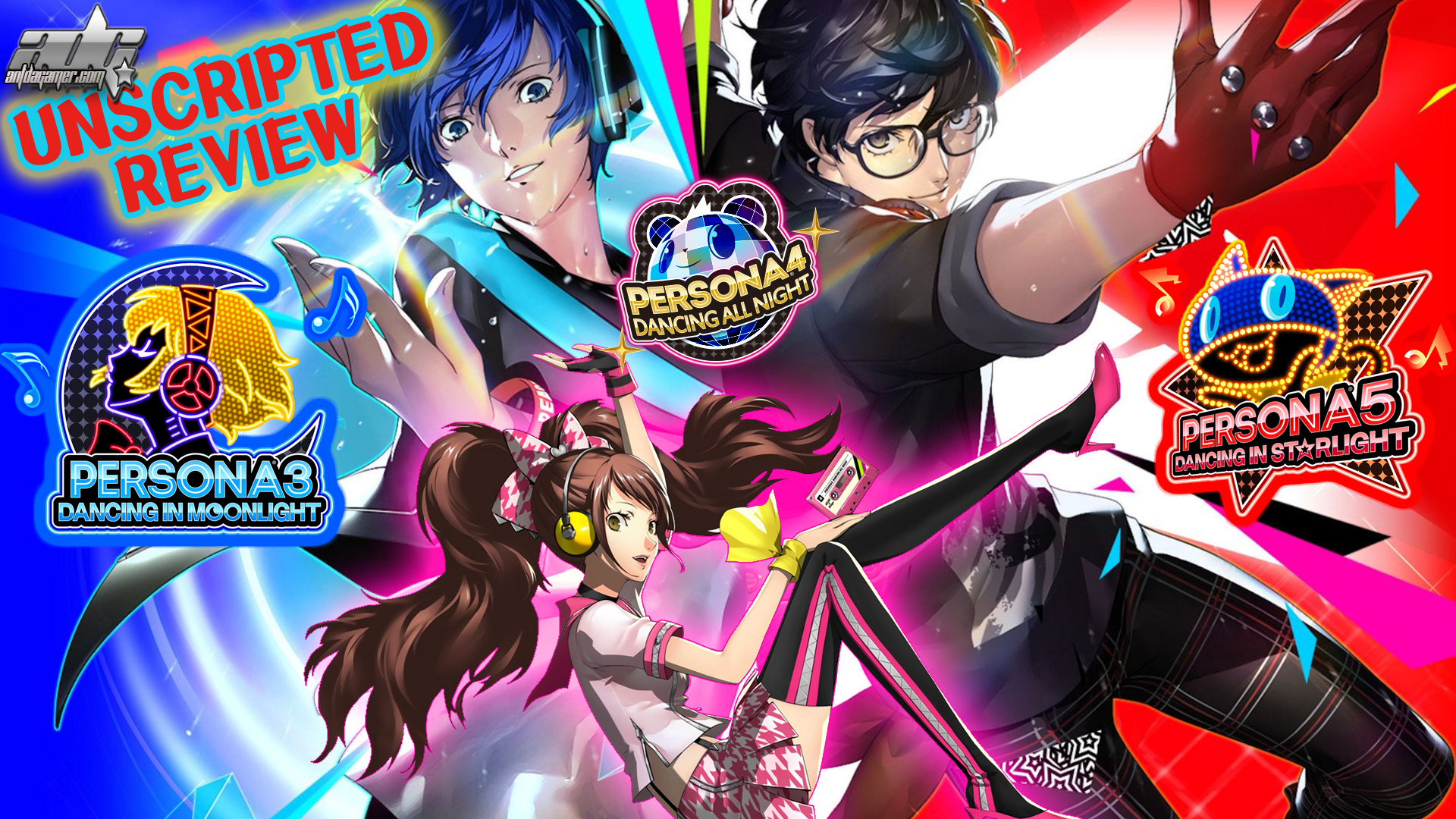 Persona Dancing Endless Night Collection Review Persona 4 5 6