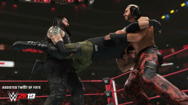 wwe 2k19 new moves pack AssistedTwistofFate2