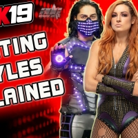 WWE 2K19 Fighting Styles Explained