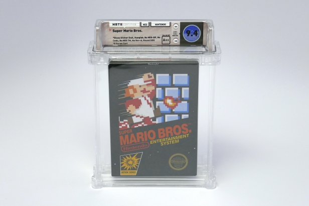 02_Super Mario Bros sold for $100+K CREDIT WATA GAMES.JPG