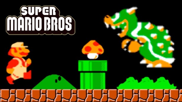 Super Mario Bros Retro with Bowser