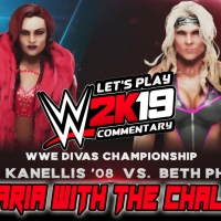"WWE 2K19 Let's Play Commentary ""Maria Challenges Beth Phoenix For The Divas' Championship"""