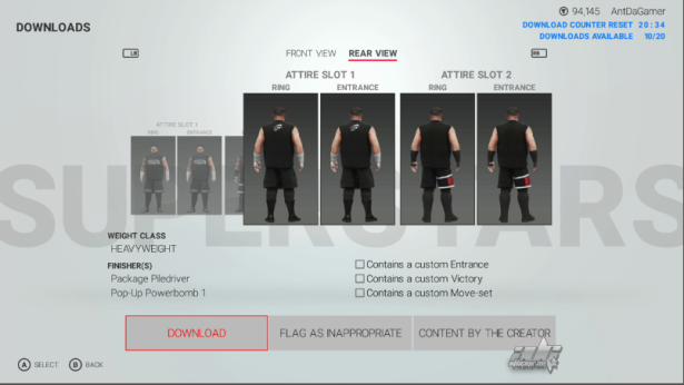 Kevin Owens Iconic2K RecentSaucer349 SDLive with new tattoos preview pics antdagamercom (2)