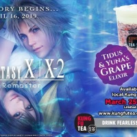FINAL FANTASY X/X-2 Themed Beverage Hits Kung Fu Tea Locations Nationwide