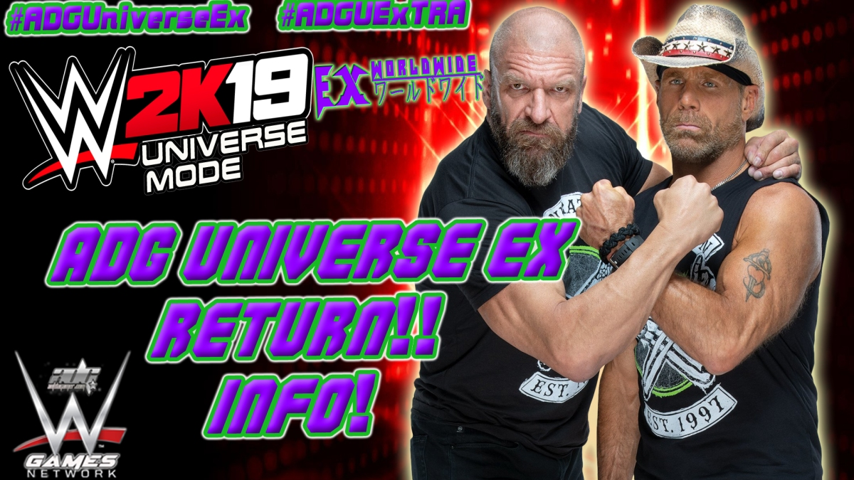 WWE 2K19 ADG Universe Ex Mode Return Details Video