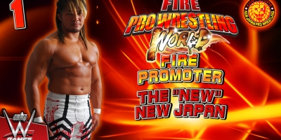 fire pro wrestling world fire promoter trainer