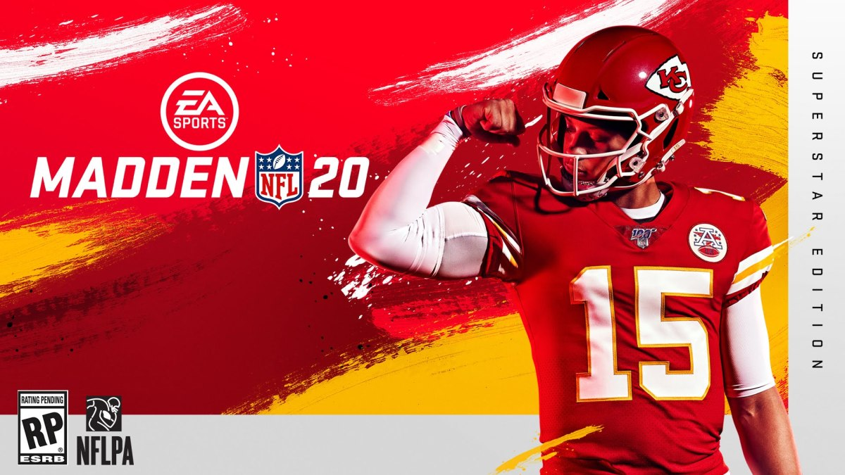 EA SPORTS Names 2018 NFL MVP Patrick Mahomes Cover Athlete of Madden NFL 20